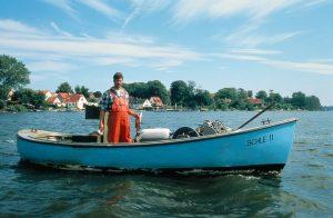 Schleswig/Schlei: Fischer auf der Schlei, Bildquelle: Schleswig Touristinformation