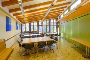 Konferenzraum in der Jugendherberge Lingen